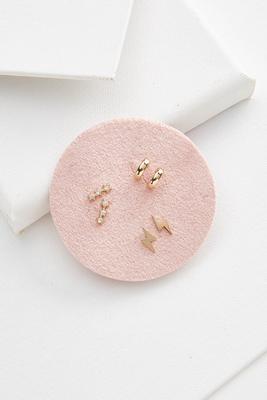 bolt earring set