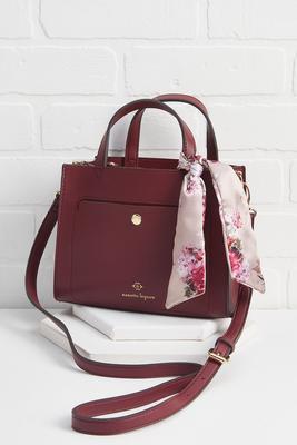 scarf satchel