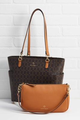 2 in 1 time to travel tote