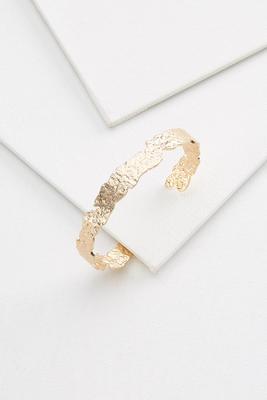 crushed cuff bracelet