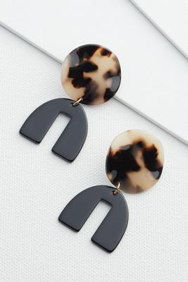 statement animal earrings