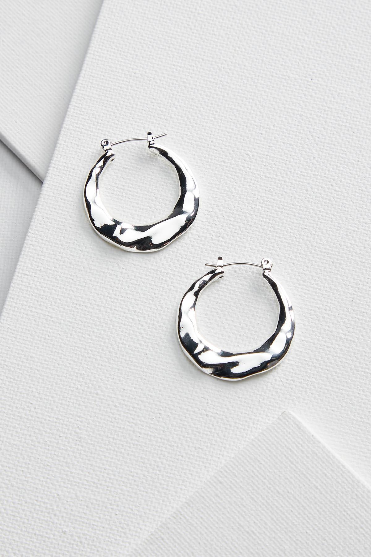 Hoop Wave Earrings