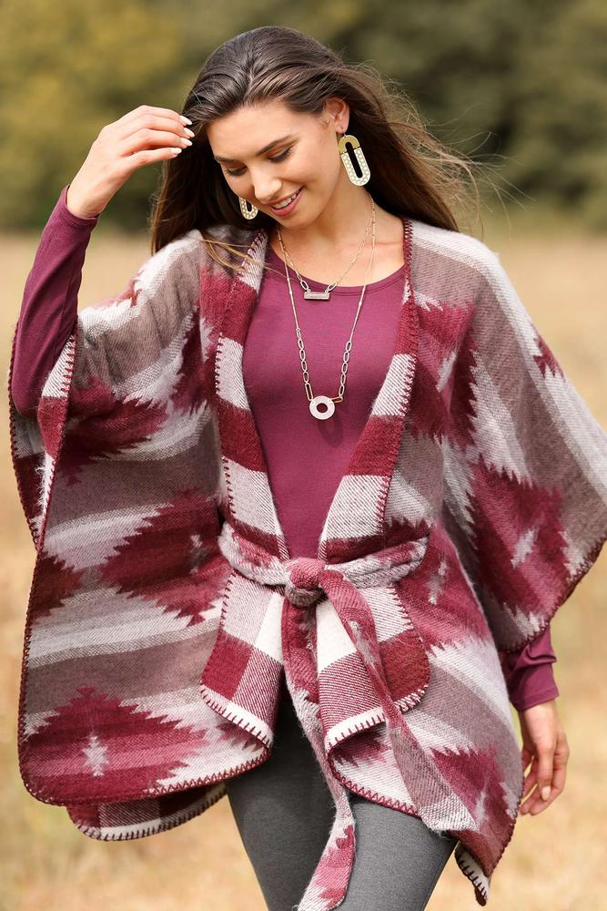First Feel Of Fall Poncho