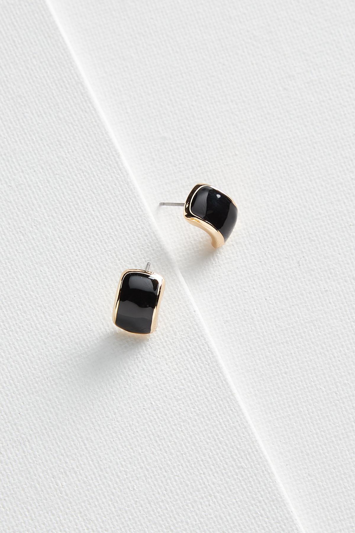 Curved Post Earrings