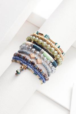 blue waters bracelet set