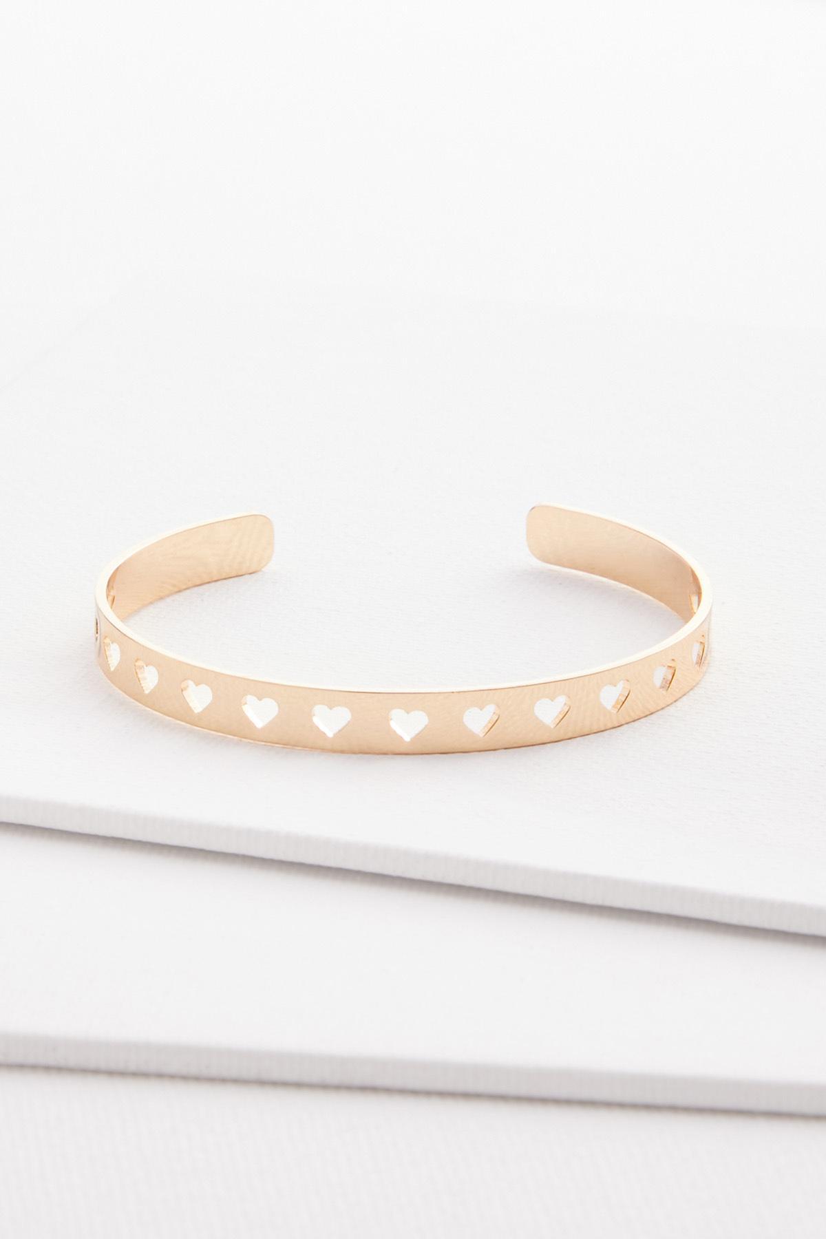 Heart Cuff Bracelet