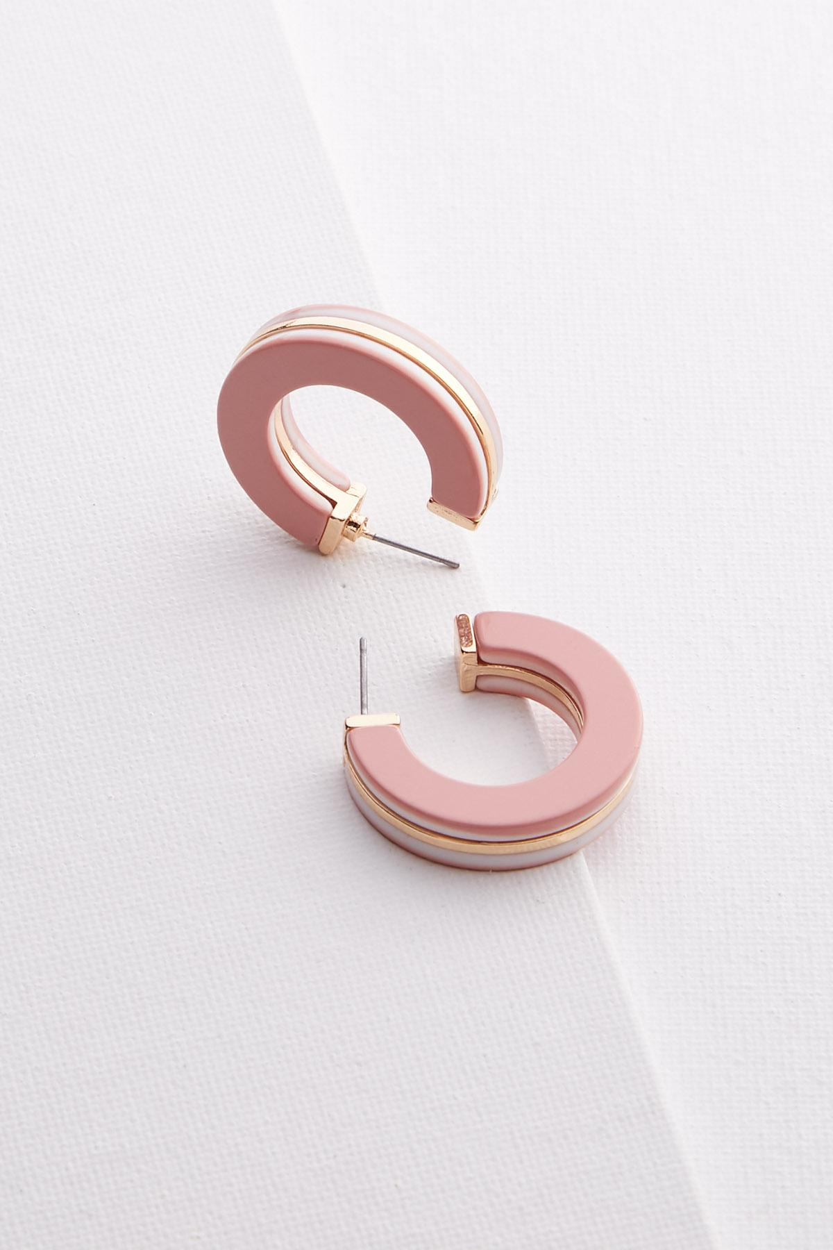 Layered Lucite Earrings