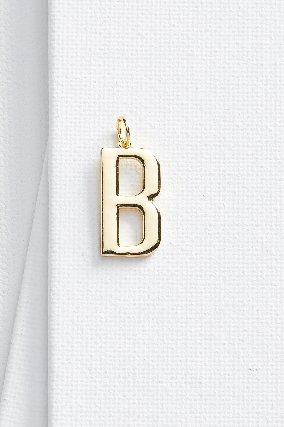B Initial 18k Charm