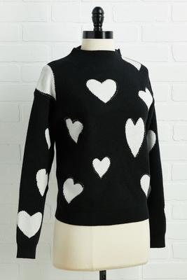 straight to my heart sweater