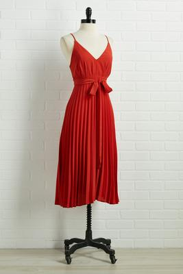 so pleats with you dress