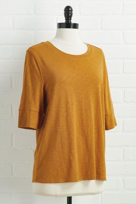 classically casual top