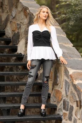 corset in stone top