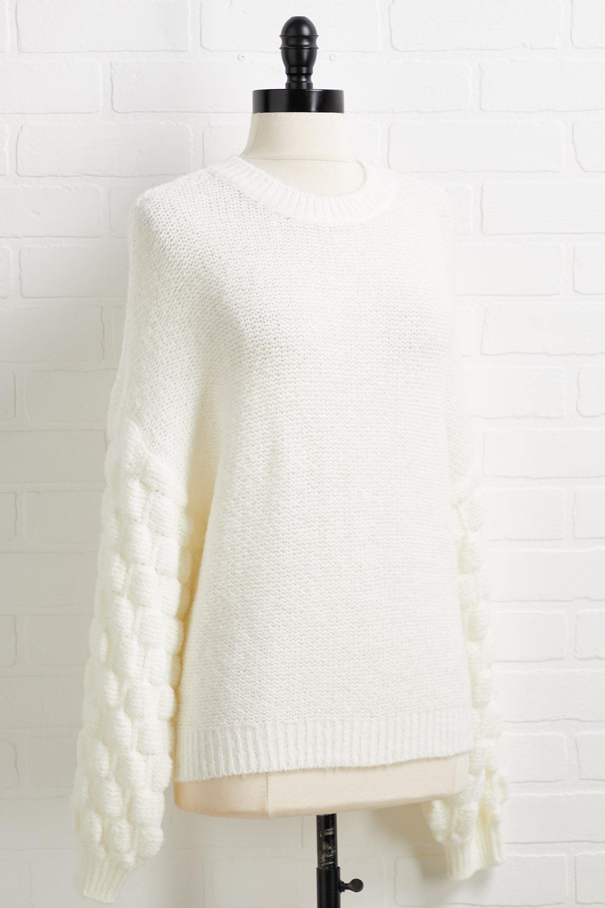 Burst My Bubble Sweater