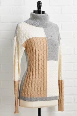 block to me sweater