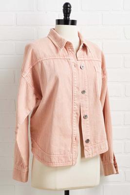 such a peach jacket
