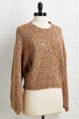 a speckle of hope sweater