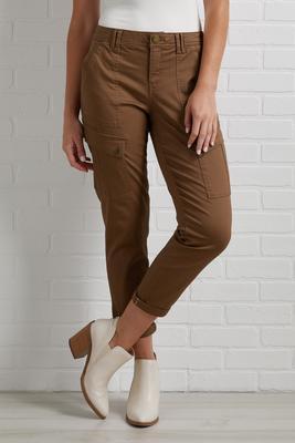 solid plan pants