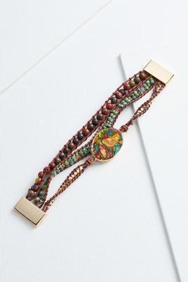 earth elements wrap bracelet