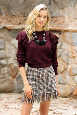 tweed your love skirt