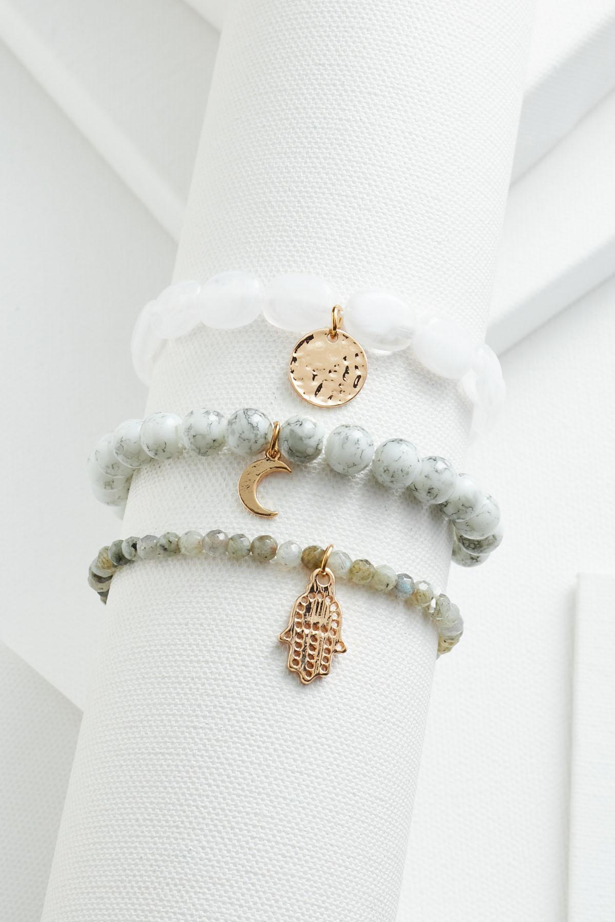 Spiritual Charm Bracelet Set