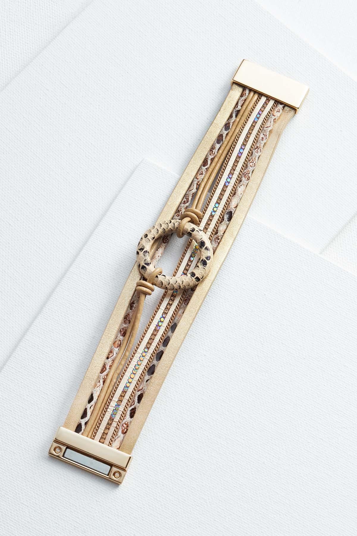 Magnetic Snakeskin Bracelet