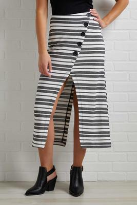 talking business skirt