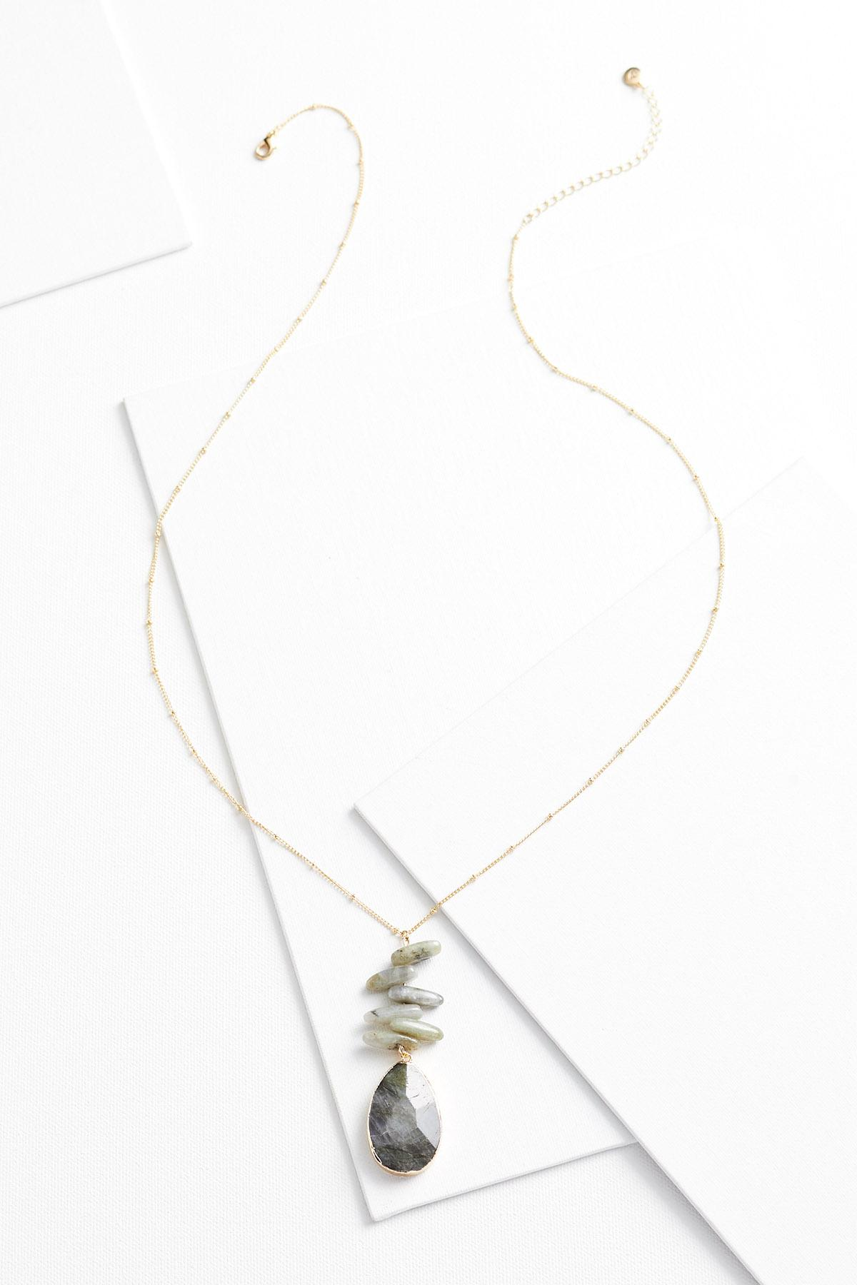 Stacked Pendant Necklace