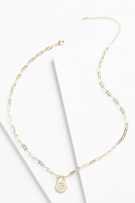 18k b pendant necklace