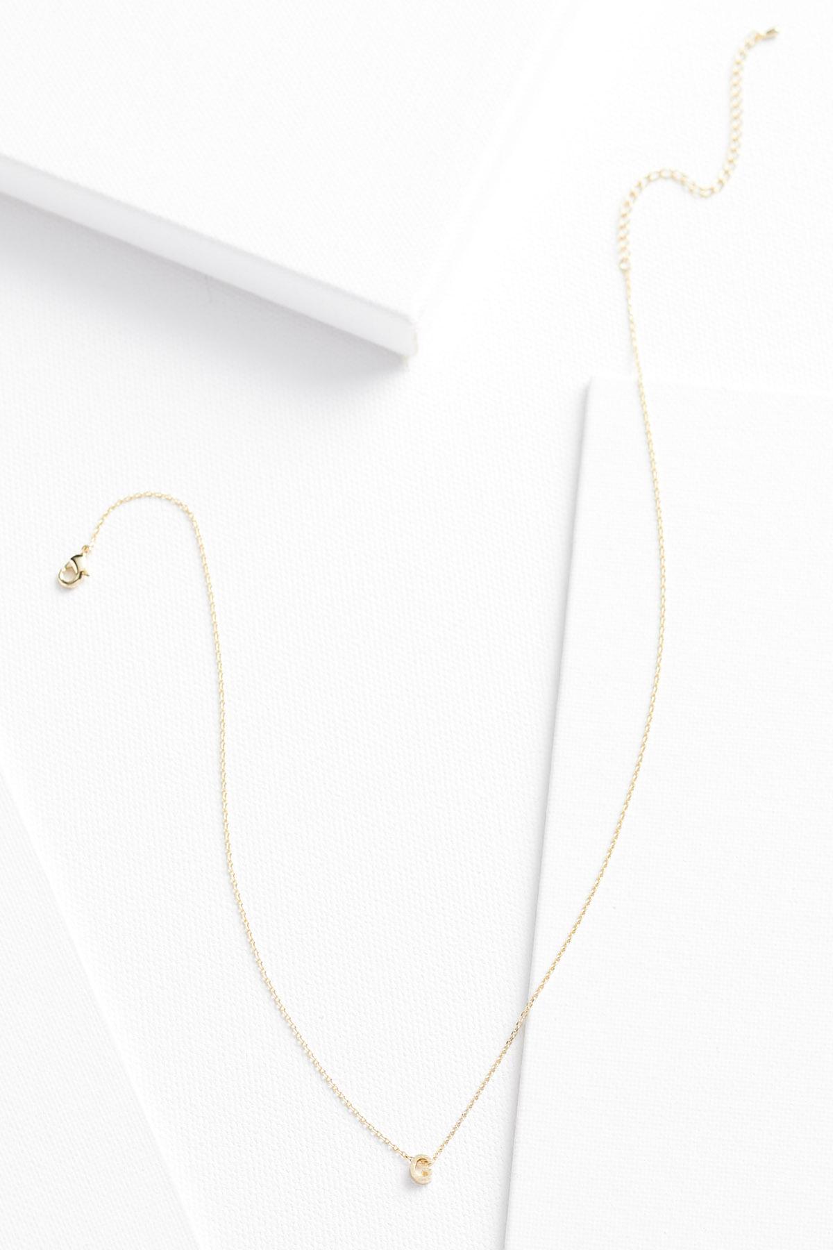 18k Tiny G Necklace