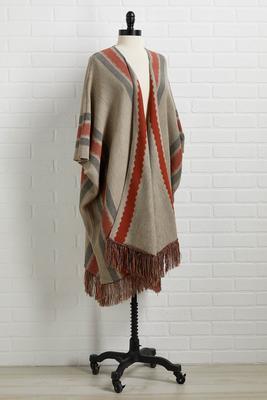keep knit cozy poncho