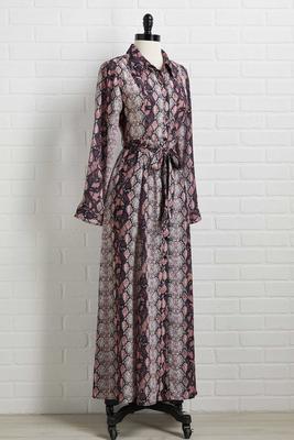 snake charmer dress