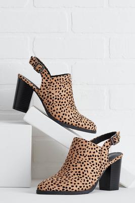 slightly wild booties