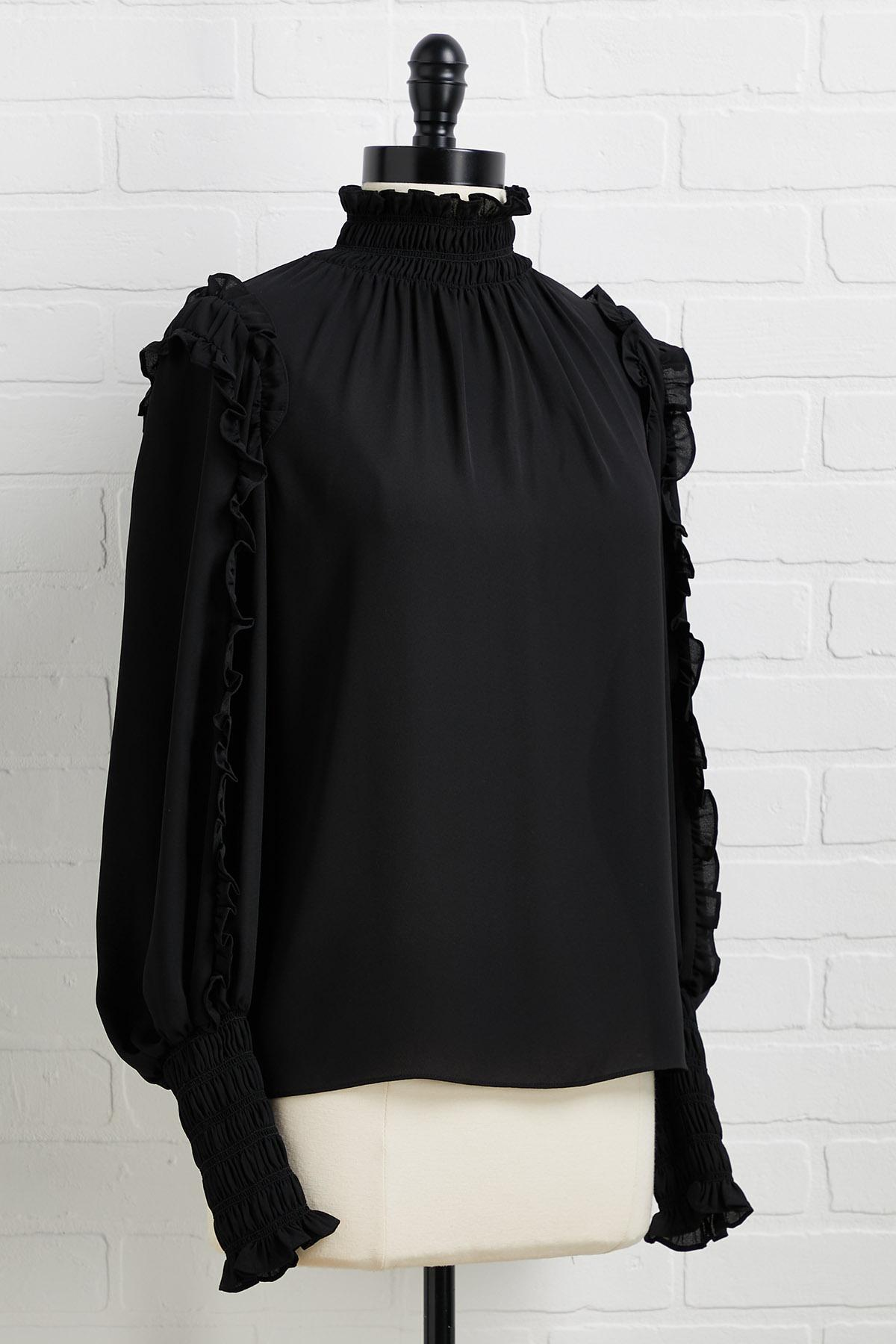 Give Me The Frills Top