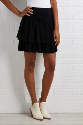 playing flair skirt
