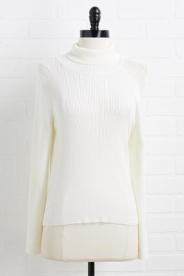 ski slope sweater