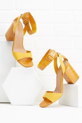 croc `em down heels