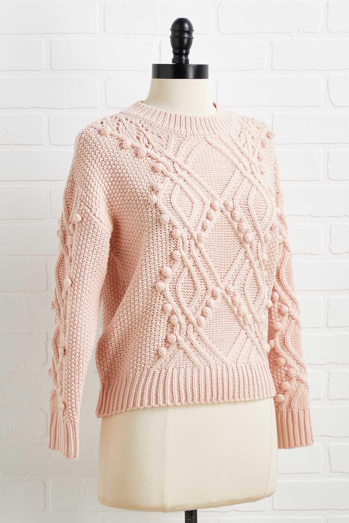 Keep Me In Your Dots Sweater