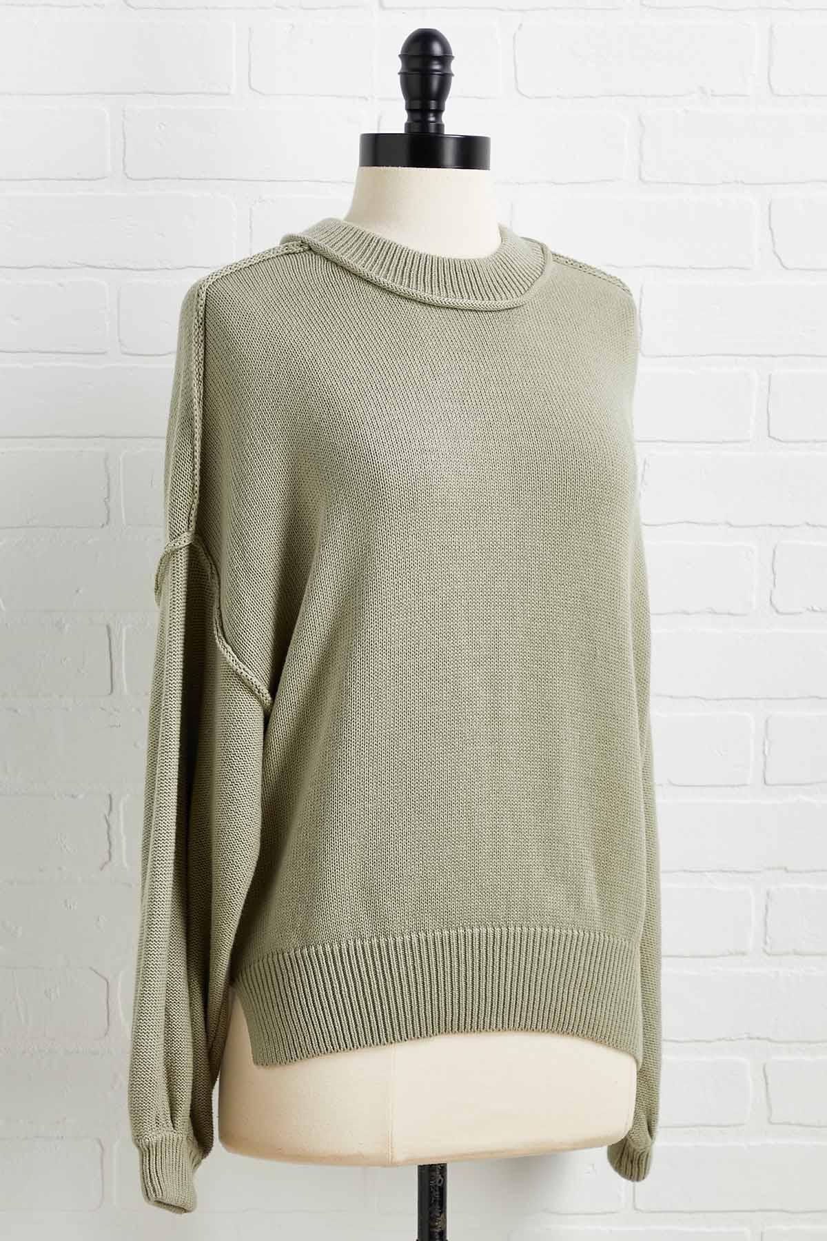 Seams To Me Sweater