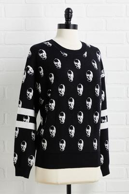 don`t noggin till you try it sweater