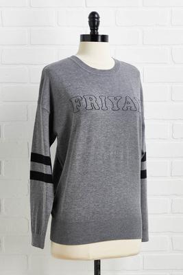 friyay sweater