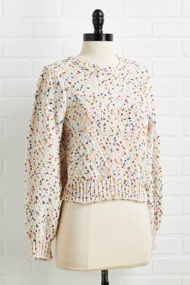 extra sprinkles sweater
