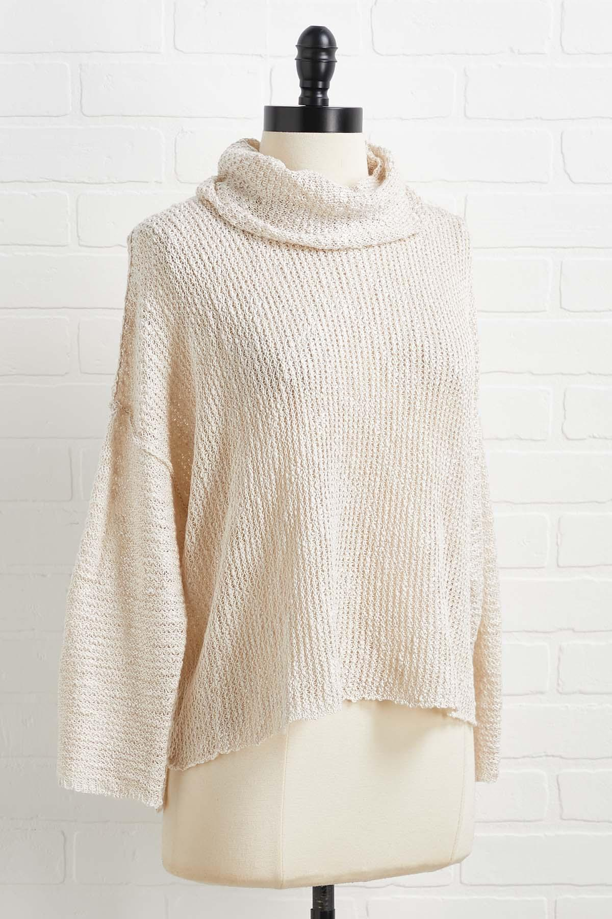 Blank Slate Sweater