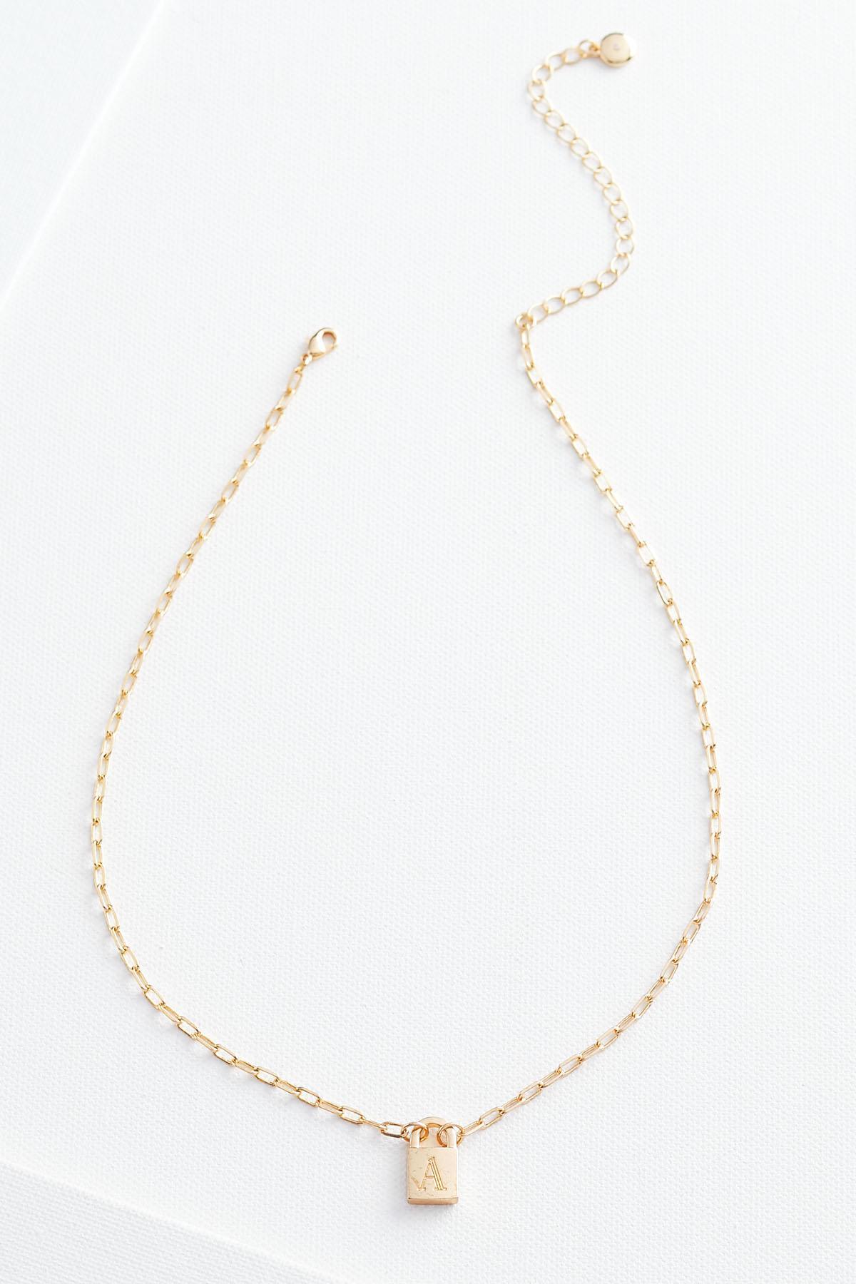 A Locket Pendant Necklace