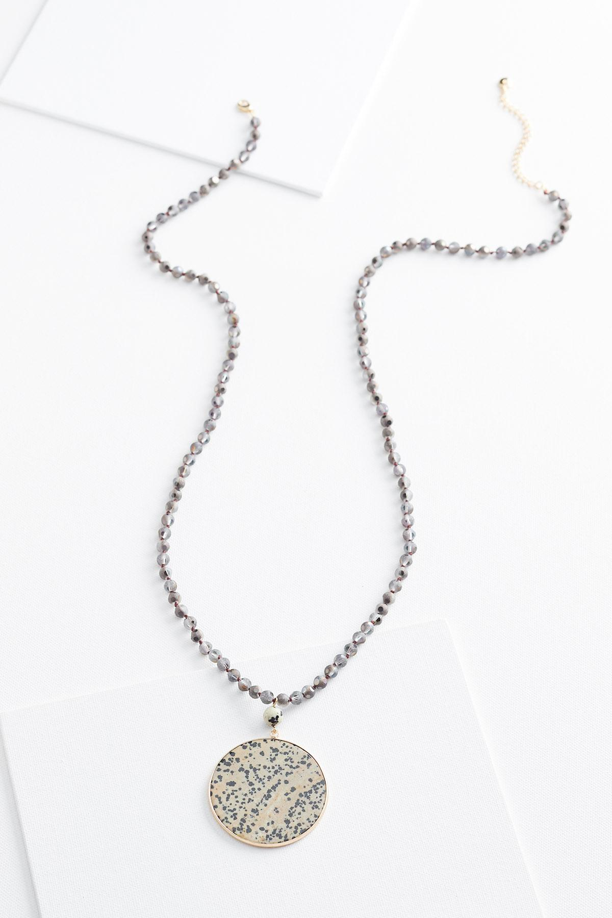Semi Pendant Necklace
