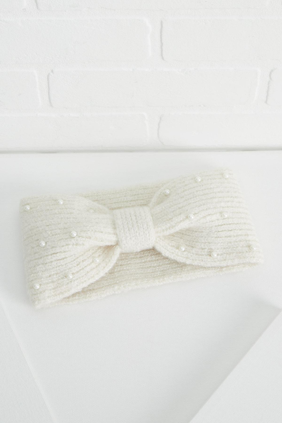 Pearl Embellished Headwrap