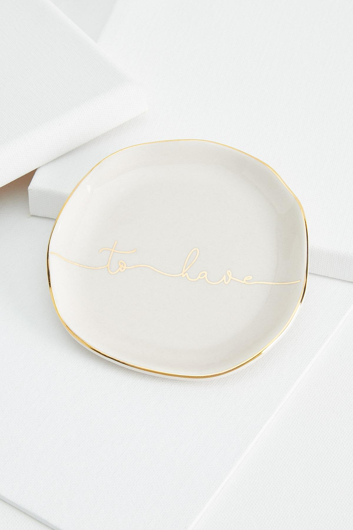 To Have Trinket Tray