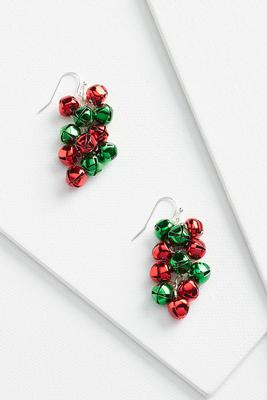 dainty jingle bell earrings