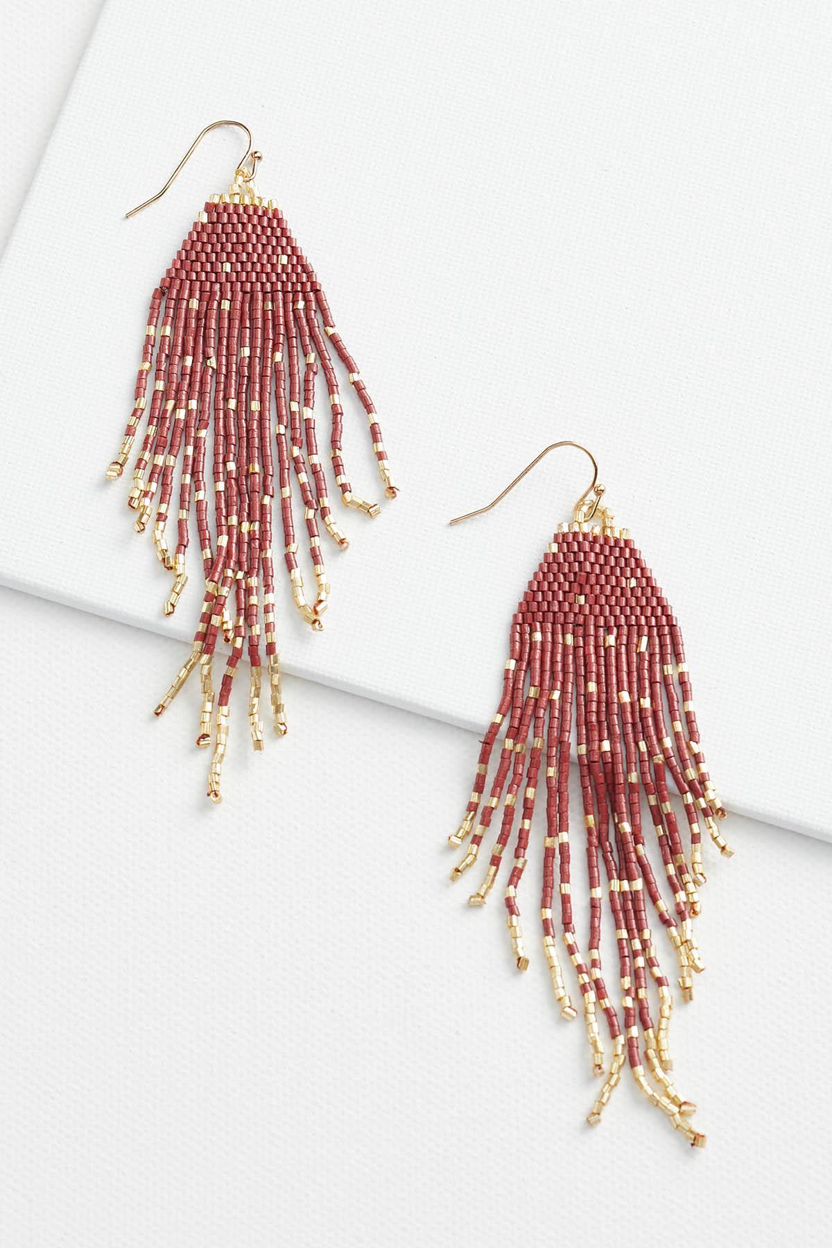 Firework Fringe Earrings