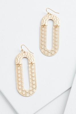 open lasercut earrings