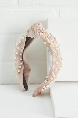 pearls rule headband